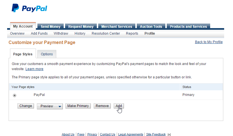 How to Upload a Logo to PayPal\'s Checkout – RevolutionParts, Inc
